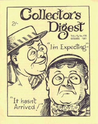THE COLLECTORS' DIGEST. Collectors' Digest, Herbert Leckenby, Eric Fayne.