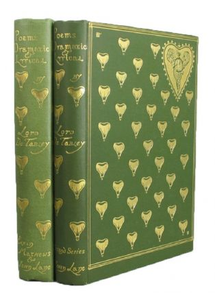 POEMS DRAMATIC AND LYRICAL. Charles Ricketts, John Leicester Warren, Lord de Tabley