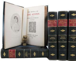 THE NOVELS OF JANE AUSTEN. Jane Austen.