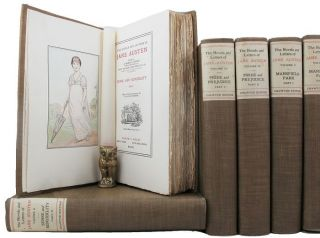 THE NOVELS AND LETTERS OF JANE AUSTEN. Jane Austen.