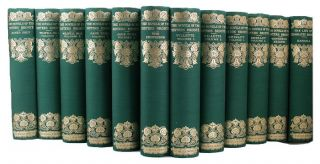 NOVELS OF THE SISTERS BRONTE. Anne Bronte, Charlotte, Emily.