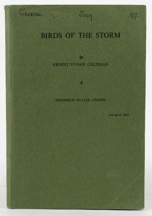 BIRDS OF THE STORM. Marjorie Ozanne, Ernest-Vivian Coltman
