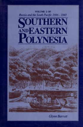 SOUTHERN AND EASTERN POLYNESIA. Glynn Barratt.