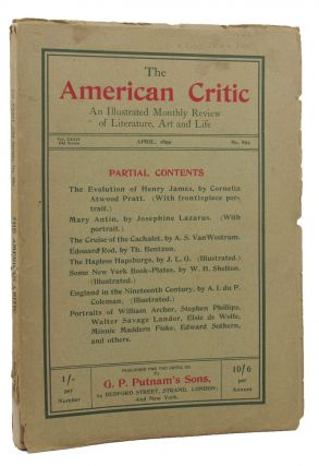 SOME NEW YORK BOOK-PLATES contained in THE AMERICAN CRITIC.