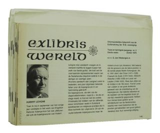 JOURNAL. Exlibris Wereld