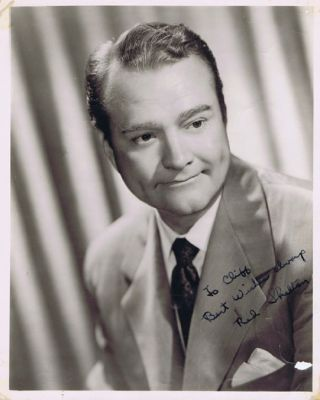 PHOTOGRAPH OF RED SKELTON, Red Skelton.