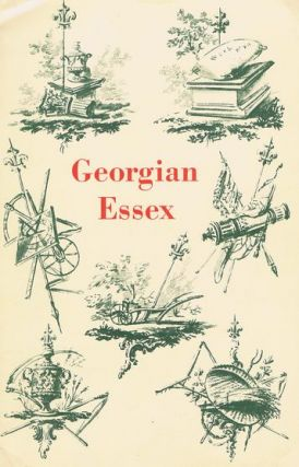 GEORGIAN ESSEX. Nancy Briggs, Introduction.