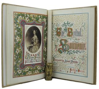 THE BRIDAL SOUVENIR. Samuel Stanesby, illuminator