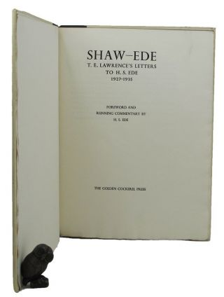 SHAW-EDE. T. E. Lawrence.