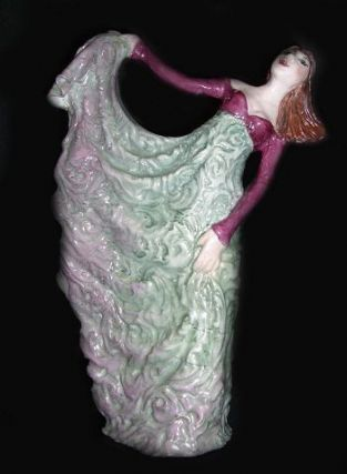 THE GOWN. Jennifer Gibney, Sculptor.