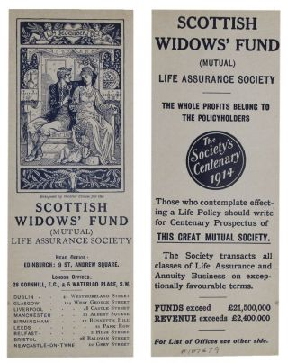 DECEMBER. Issue II(c). Mutual Life Assurance Society Scottish Widows' Fund.