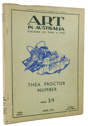 ART IN AUSTRALIA: THIRD SERIES, NUMBER FORTY-THREE. Art in Australia 03/43.