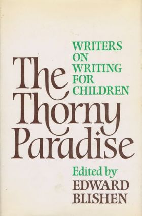 THE THORNY PARADISE. Edward Blishen