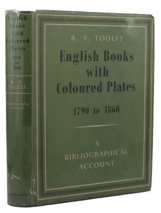 ENGLISH BOOKS WITH COLOURED PLATES. R. V. Tooley