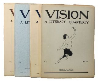 VISION. Jack Lindsay, Frank C. Johnson, Kenneth Slessor