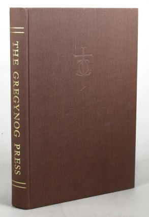 A HISTORY OF THE GREGYNOG PRESS.