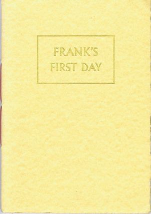 FRANK'S FIRST DAY. Paul Brennan