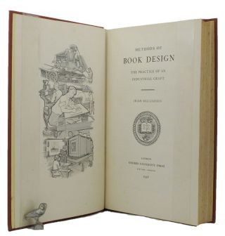 METHODS OF BOOK DESIGN. Hugh Williamson