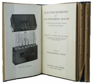 ELECTROCHEMISTRY AND ELECTROCHEMICAL ANALYSIS. H. J. S. Sand