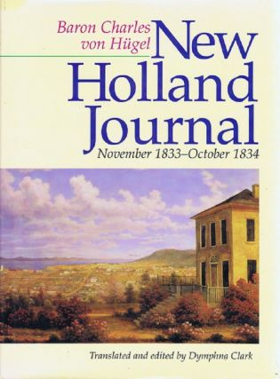 NEW HOLLAND JOURNAL:. Baron Charles von Hugel.
