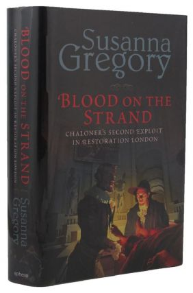 BLOOD ON THE STRAND. Susanna Gregory, Elizabeth Cruwys, Pseudonym.