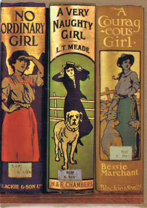 NO ORDINARY GIRL. Bodleian Library cards