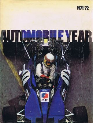 AUTOMOBILE YEAR 19: 1971/1972. Douglas Armstrong