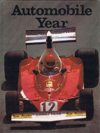 AUTOMOBILE YEAR 23: 1975/1976. Douglas Armstrong