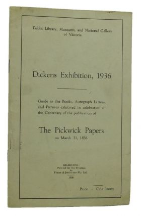 DICKENS EXHIBITION, 1936. Charles Dickens
