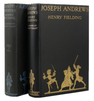THE HISTORY OF THE ADVENTURES OF JOSEPH ANDREWS and his friend, Mr. Abraham Adams. Henry Fielding