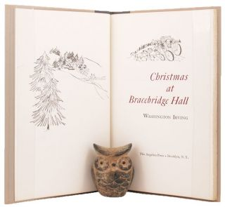 CHRISTMAS AT BRACEBRIDGE HALL. Washington Irving