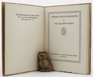 TWENTY-FOUR SONNETS. William J. Ibbett.