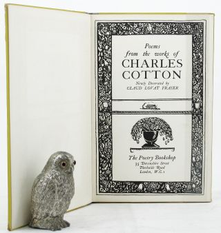 POEMS FROM THE WORKS OF CHARLES COTTON. Charles Cotton.