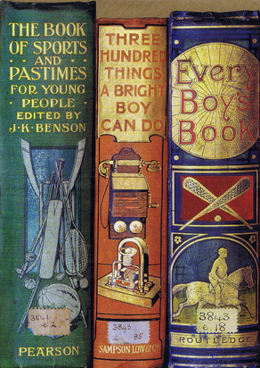 EVERY BOY'S BOOK. Bodleian Library cards