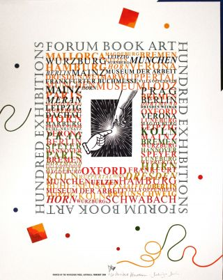 FORUM BOOK ART. Wayzgoose Broadside.