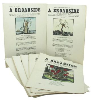 A BROADSIDE. Nos. 1-12 (NEW SERIES). William Butler Yeats, F. R. Higgins.