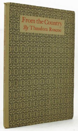 FROM THE COUNTRY. Theodora Roscoe