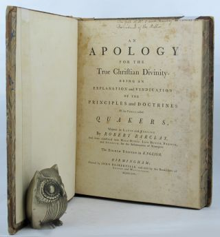 AN APOLOGY FOR THE TRUE CHRISTIAN DIVINITY,