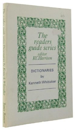DICTIONARIES. Kenneth Whittaker.