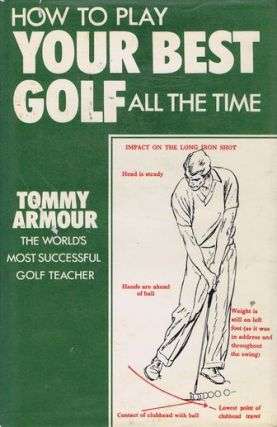 HOW TO PLAY YOUR BEST GOLF ALL THE TIME. Tommy Armour.