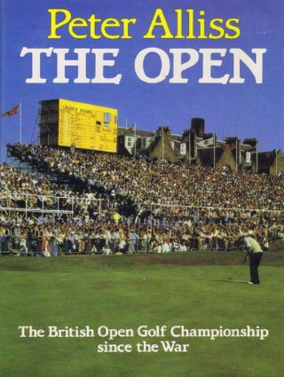 THE OPEN. Peter Alliss, Michael Hobbs.