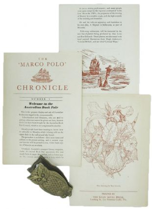 THE 'MARCO POLO' CHRONICLE. Ronald G. Edwards