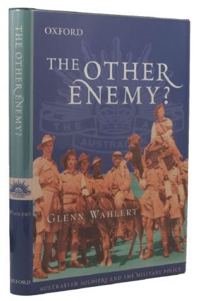THE OTHER ENEMY? Glenn Wahlert.
