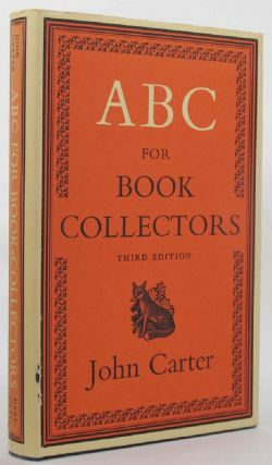 ABC FOR BOOK COLLECTORS. John Carter