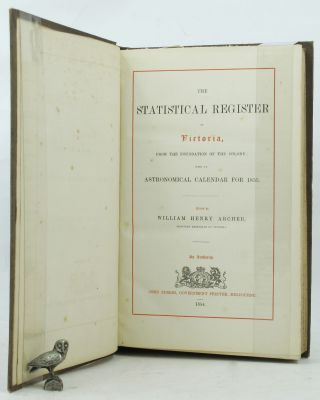 THE STATISTICAL REGISTER OF VICTORIA,