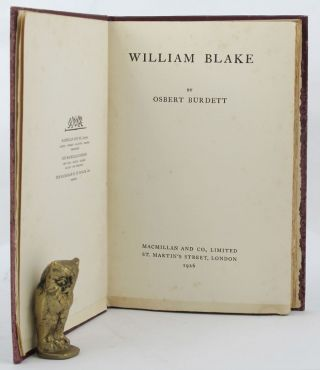WILLIAM BLAKE. William Blake, Osbert Burdett
