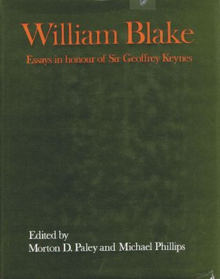 WILLIAM BLAKE. William Blake, Morton D. Paley, Michael Phillips