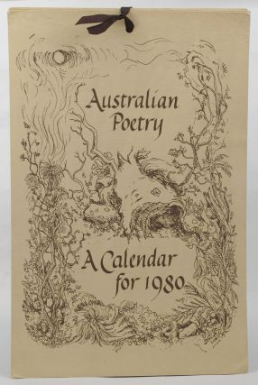 AUSTRALIAN POETRY: A CALENDAR FOR 1980. Christine Farmer, Calligrapher