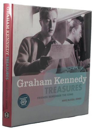 GRAHAM KENNEDY TREASURES. Graham Kennedy, Mike McColl Jones, Steve Vizard.