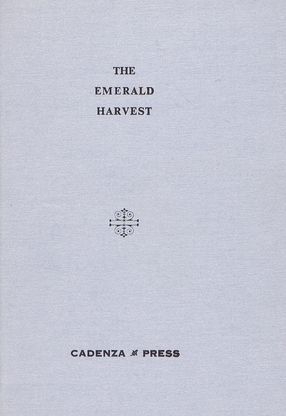 THE EMERALD HARVEST. G. A. Beale